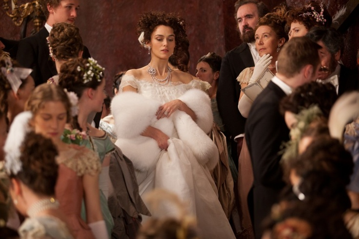 Keira Knightly in Anna Karenina