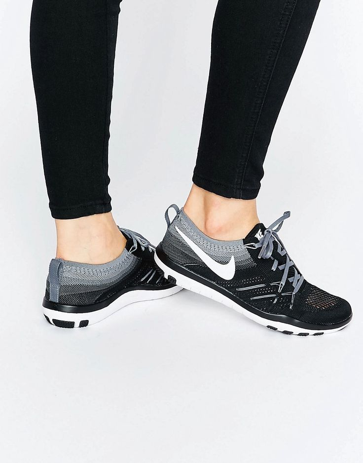 Image 1 ofNike Free Tr Focus Flyknit Trainers