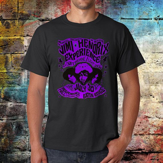 Jimi Hendrix T-shirt - voodoo child - Jimi Tee - Graphic Tshirt - Hendrix shirt - Band Tshirt - Rock n roll - Worldwide shipping