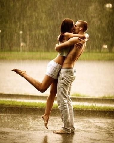kiss in the rain and more on 50Nights.com