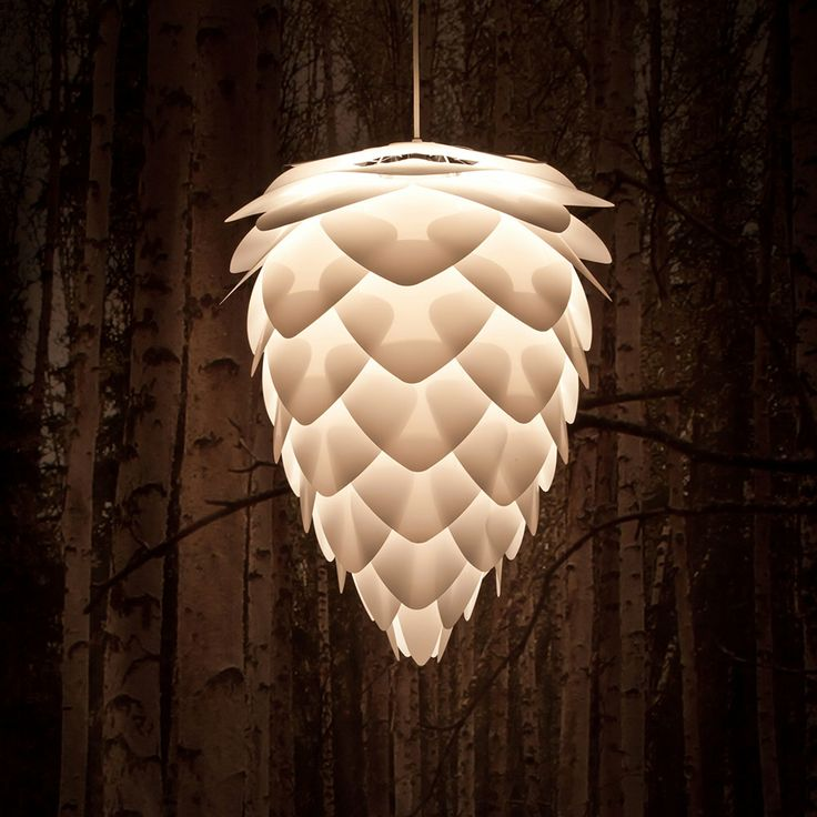 Conia Lampshade, White - Vita - Vita - RoyalDesign.com  H. 55cm