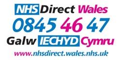 NHS Direct Wales - Galw Iechyd Cymru - 0845 46 47
