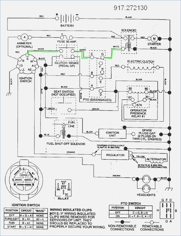 image result for craftsman gt 5000 lawn mower wiring diagram