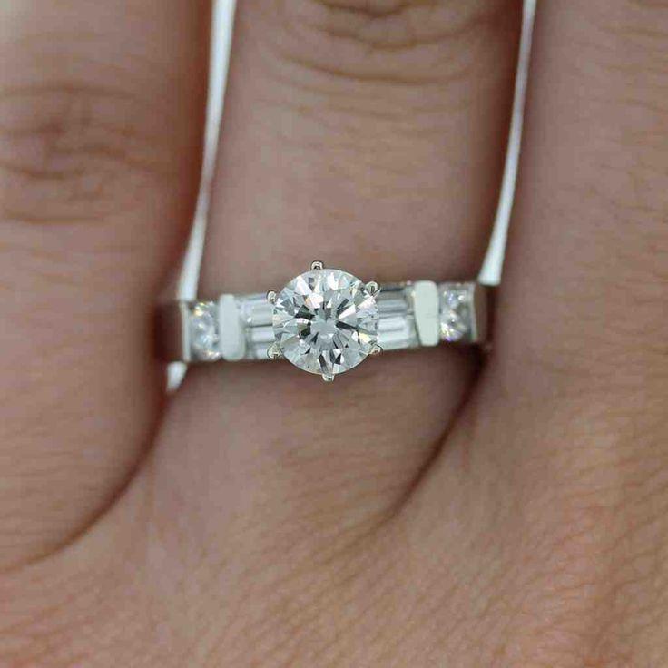 60 best platinum engagement rings images on Pinterest ...