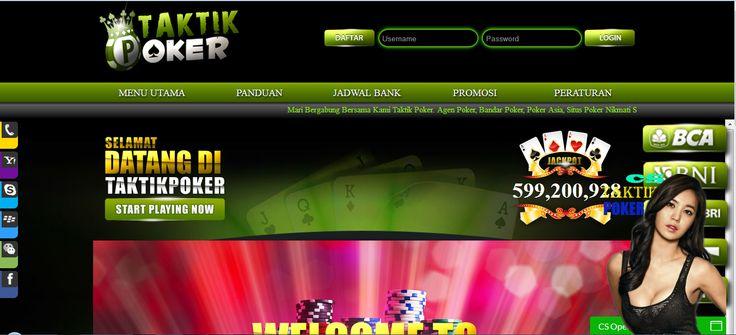 TAKTIKPOKER – Agen Poker Online, DominoQQ Terpercaya