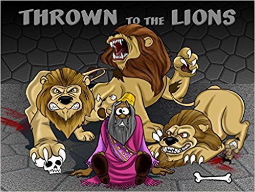 Thrown to the Lions | Daniel in the Lions Den: Bible Pathway Adventures: 9780473400743: Amazon.com: Books