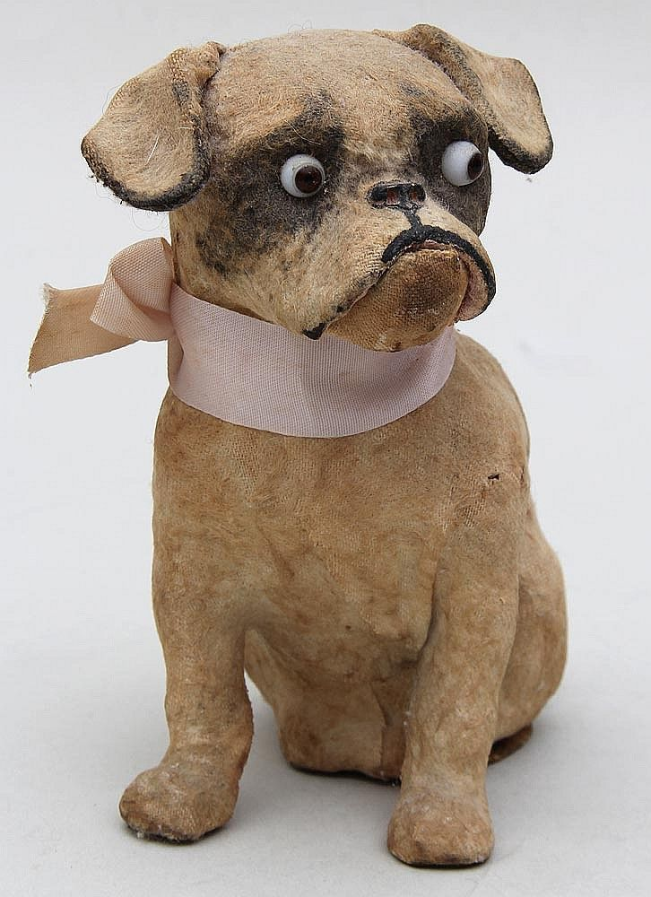Buy online, view images and see past prices for German flocked paper mache mechanical dog. Invaluable is the world's largest marketplace for art, antiques, and collectibles.