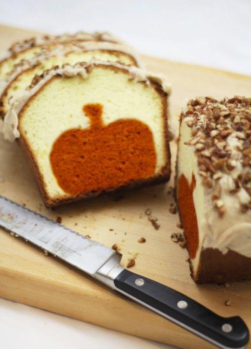 Project Denneler: Peekaboo Pumpkin Pound Cake