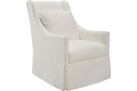 Lee  3471-01  Chair    Overall: W30  D39  H41   Inside: W22  D19  H24   Seat Height: 18 Arm Height: 25 Back Rail Height: 41  Fabric / Leather: Starnes Organic White    Standard w/Topstitching, Cushion naturalLEE, All Down Backs