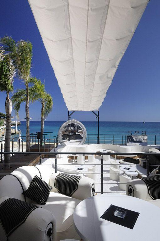 Sea lounge in Monaco