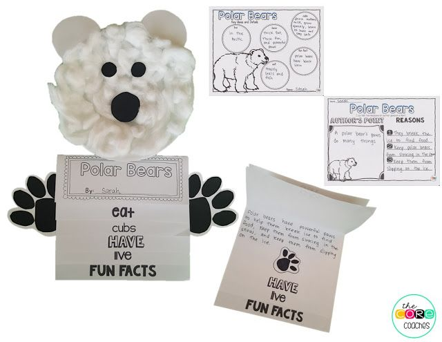 Polar Bears- National Geographic Kids- Informational Text Activities