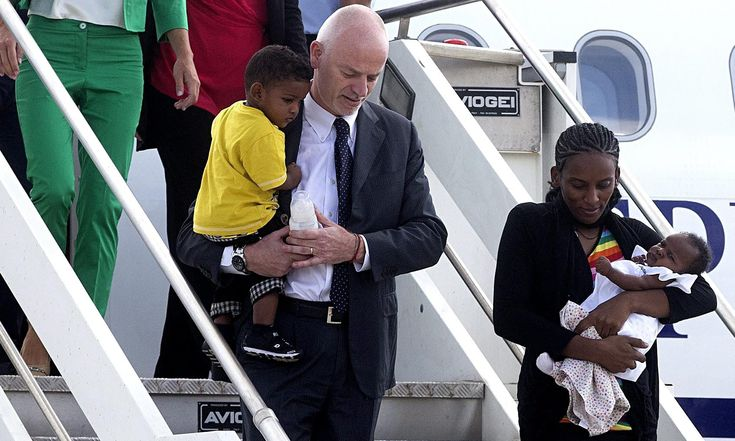 A letter of thanks from the petitioner - Meriam, a Sudanese woman was spared a death sentence for apostasy, arrives in Italy after a worldwide petition was implemented, to save her.