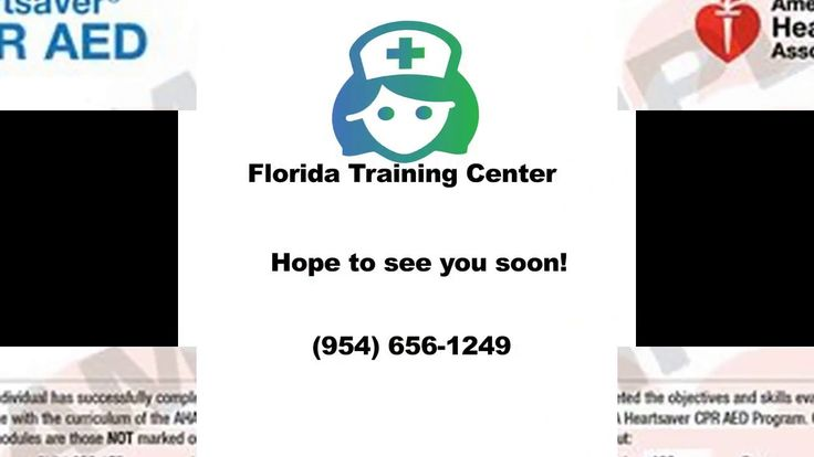 CPR Training Fort Lauderdale Florida Call (954) 656-1249