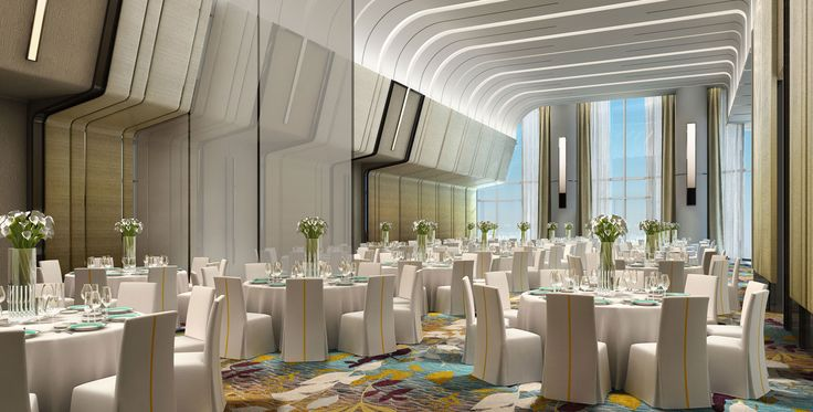 DoubleTree by Hilton in Ahmedabad, India designed by Studio HBA.