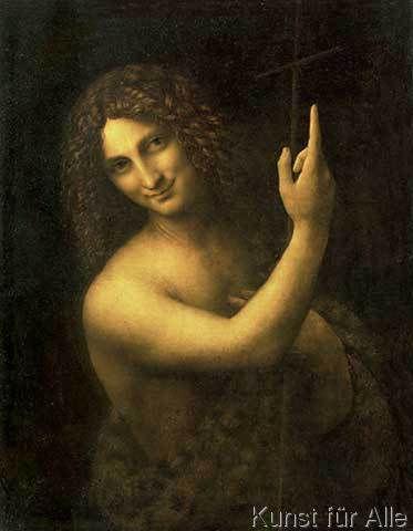 Leonardo da Vinci - Johannes der Täufer