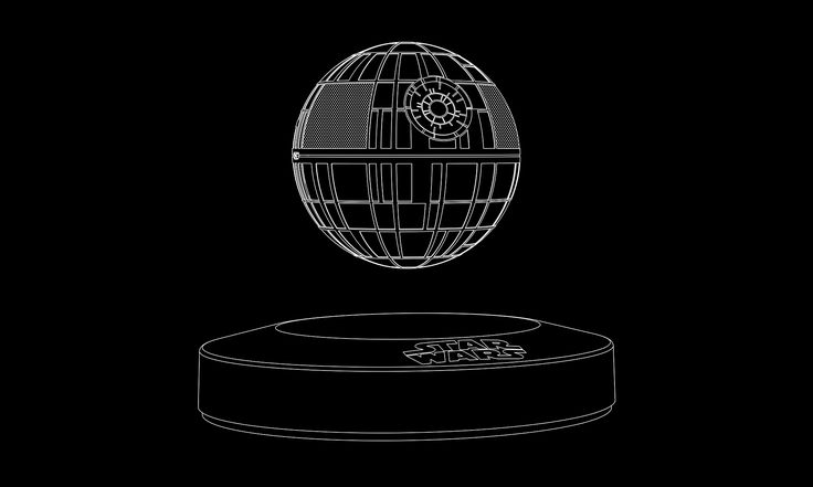 Ever wanted to buy a floating bluetooth speaker but haven't been able to decide between one with really good sound quality or one with your favourite Star Wars moments emblazoned on it? Plox just the thing for you. Levitating Death Star Speaker. Boom.