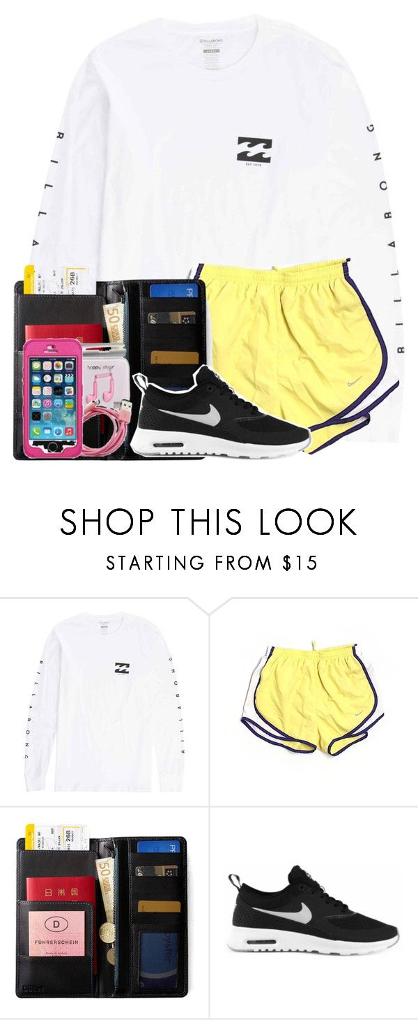 """""""GUESS WHO GETS TO SPEND A WEEK IN TEXAS THIS SUMMER?!?!?!!!"""" by alyssadesgrange ❤ liked on Polyvore featuring Billabong, NIKE and IDEA International"""