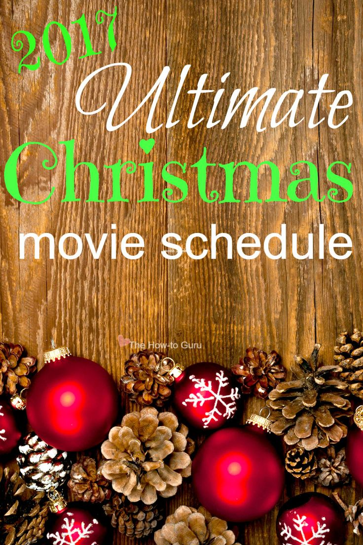 Here's the ultimate list of the NEW Hallmark Christmas movies and Freeform's classic 25 Days of Christmas movies for your family and mine.