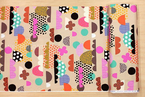 Japanese Fabric Flapper e Pattern clouds A by MissMatatabi