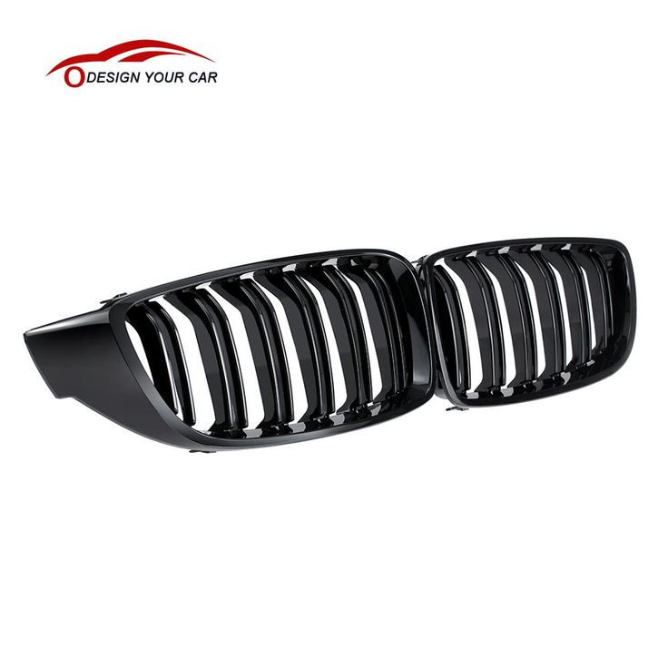 Gloss Black Front Kidney Grille Double Slat M4 Sport Style Grill for BMW F32 F33 F36 F82 Cabriolet Coupe