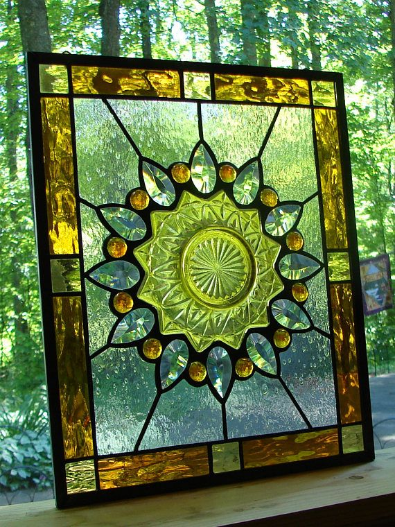338 Best Images About Stained Glass Plate Windows On Pinterest