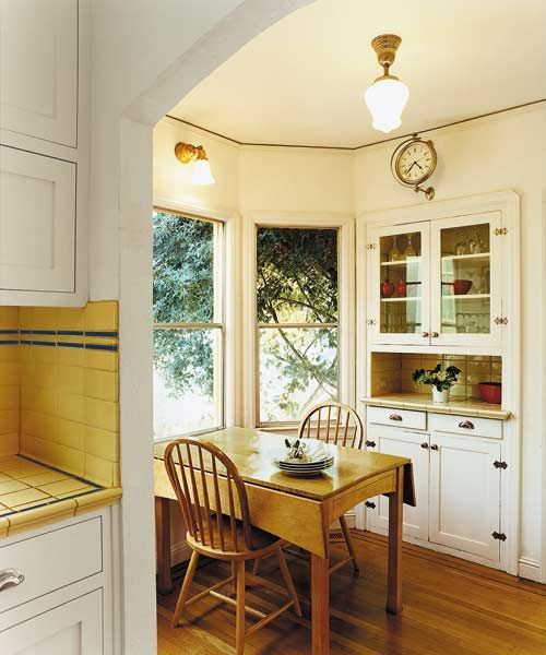 1000 ideas about small breakfast nooks on pinterest for Kitchen nook lighting ideas