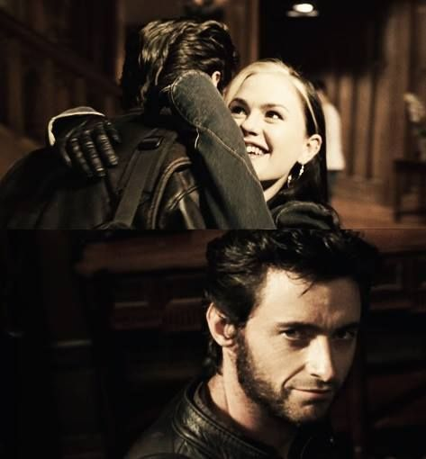 Wolverine & Rogue awwwwwwww