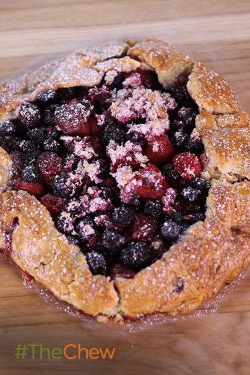 ... pie shell, frozen mixed berries, sugar, cornstarch, lemon zest and