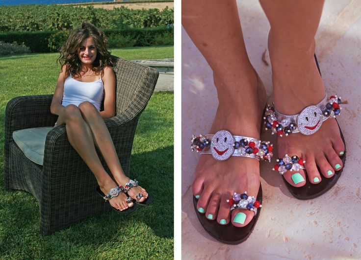Smiling Face Sandal! Keep Smiling on the good and bad times! BonbonSandals