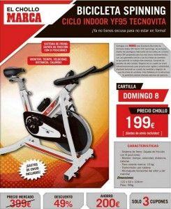 Hazte con una Bicicleta de Spinning con un descuento del 49% gracias a Marca. Sigue el enlace para saber cómo conseguirla: http://ofertasdeprensa.offertazo.com/bicicleta-spinning-bh-chollo-marca/