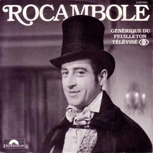 """""""Rocambole"""" (1964 - 1965) - Acteur : Pierre Vernier (Rocambole)"""