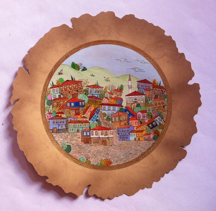 Cumalıkızık/Bursa  Minyatür GÜLBİN ATABEK