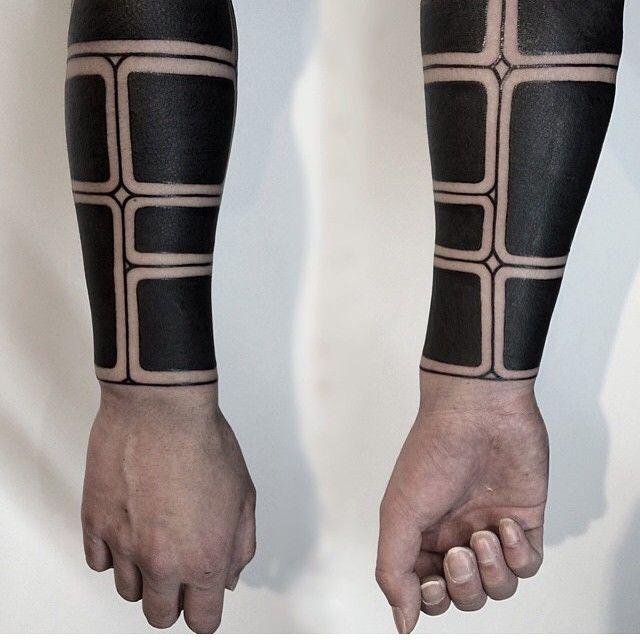Blackwork sleeves