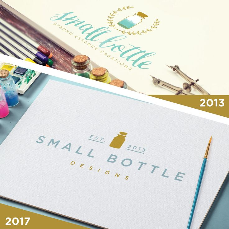 We are REBRANDING!   What's new? Our modern and elegant logo. Our chic visual identity. And Small Bottle Creations became Small Bottle Designs!  Besides, check our new complete Custom Branding Package!  New designs and templates SOON to come!  Love, Didi
