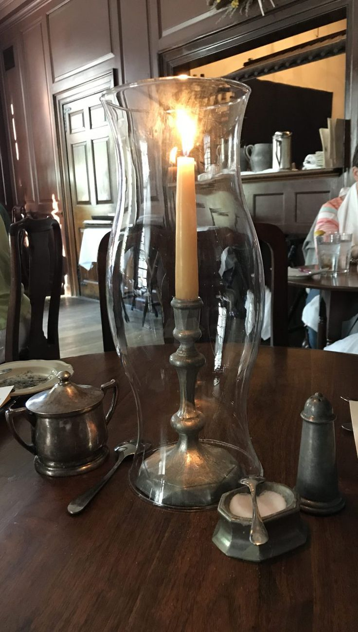 Step back in time while dining in Colonial Williamsburg in Williamsburg, Virginia!