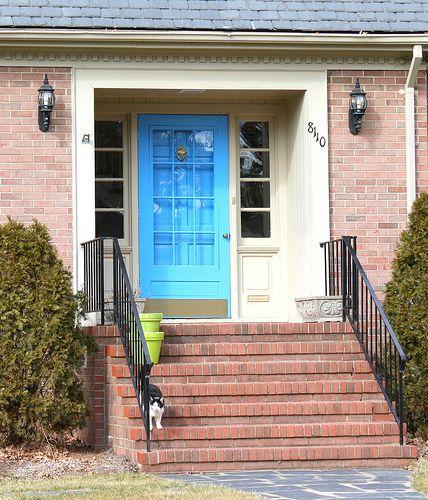 Best 25+ Colored Front Doors Ideas On Pinterest