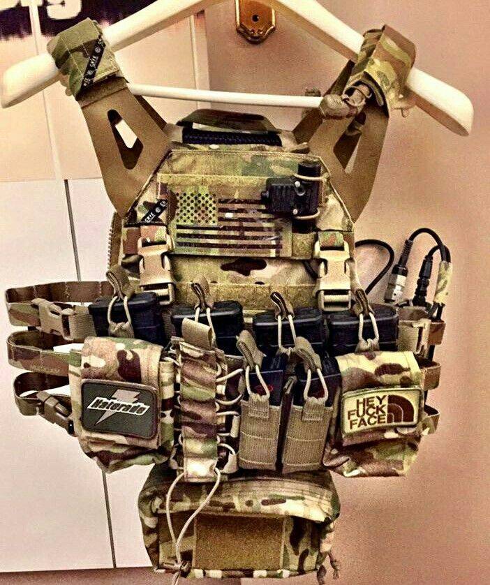 Crye JPC 2.0 w/ HSP D3 Rig