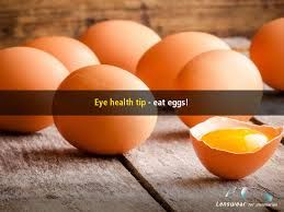 #DidYouKnow Eggs are rich in the vitamins needed to help eye health - the yolk is full of lutein, zeaxanthin and zinc, which also helps reduce macular degeneration!