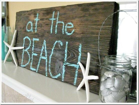 Countdown To Summer Party Summer Mantel Beach Beach