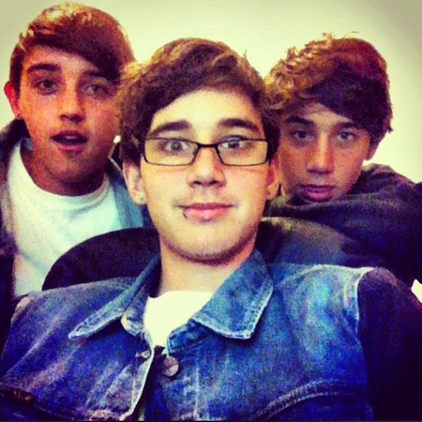 The brooks brothers from the Janoskians ^.^ beau, Luke, and Jai ❤