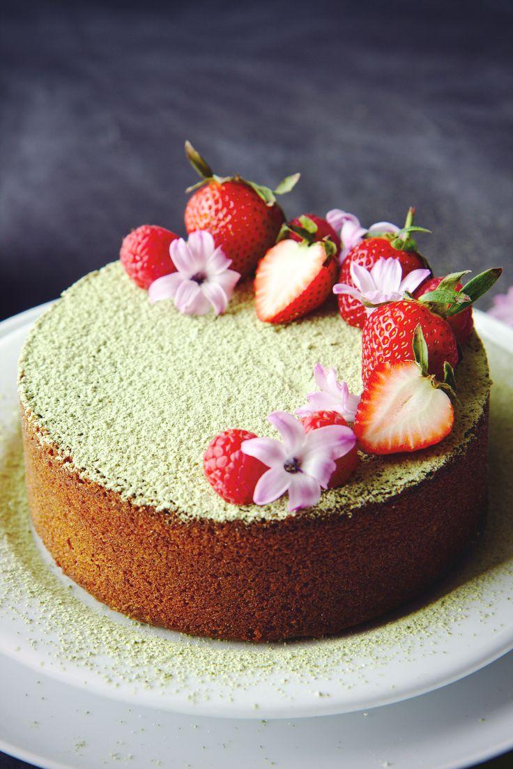 Matcha Butter Cake