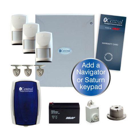 iCentral i8 8 Zone with Navigator Touchscreen Keypad Alarm Kit