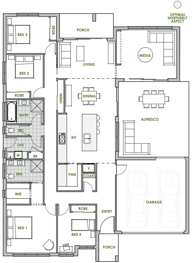 four bedroom house plans australia awesome pretty
