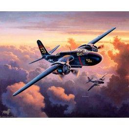 Maquette 1/72 - Lockheed P-70 Nighthawk - REVELL