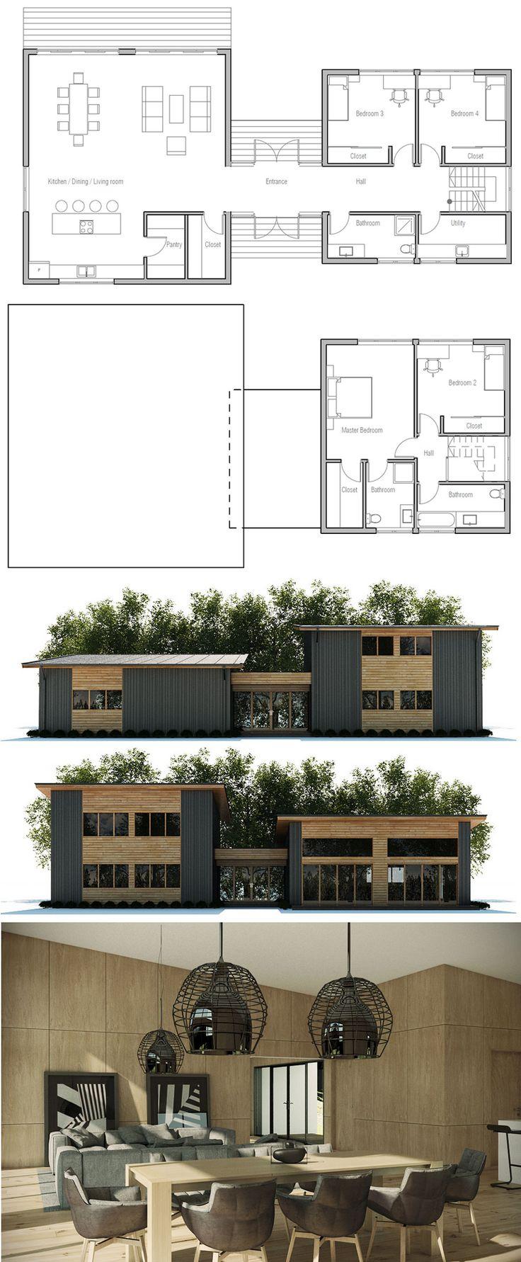 140m2 House Ground Plan Zion Star