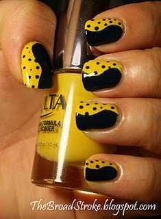 Need a black & yellow Polka-dot bikini for these!: Nails Nails, Fingernail Art, Nailart, Style, Awesome Nails, Hair Nails Makeup, Pretty Nails, Nail Design, Yellow