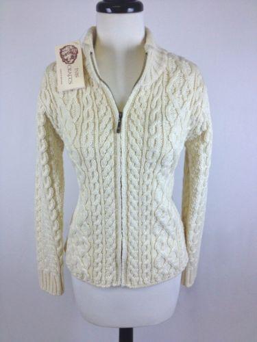 Irish Cable Wool Sweater 104