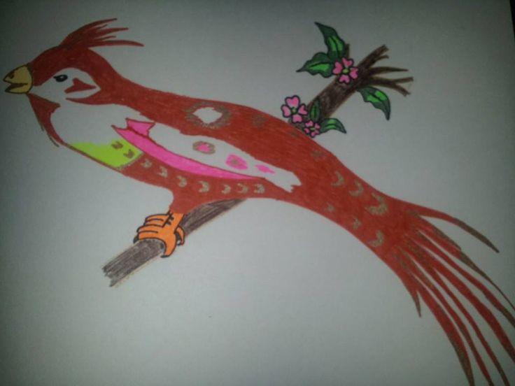Pájaro - Lapiceros