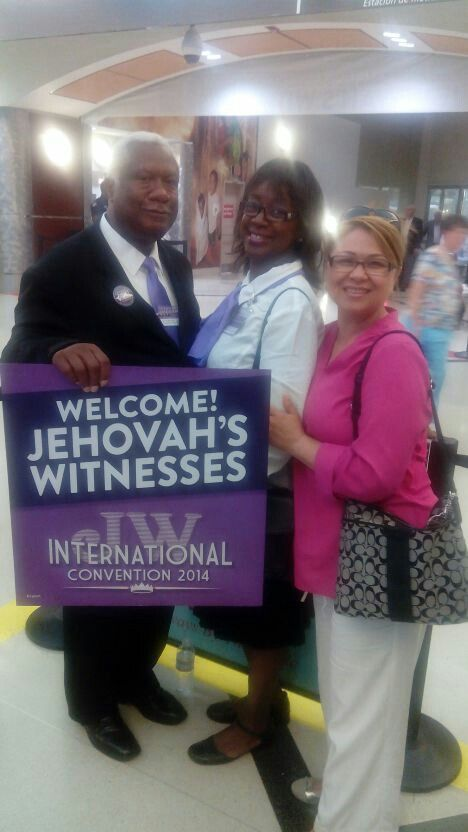 Awaiting International Delegates at Atlanta GA airport for International Convention July 4-6, 2014
