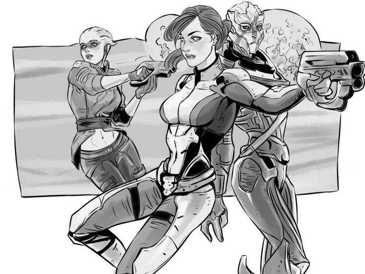"marceline2174: ""Run the new galaxy, girls """